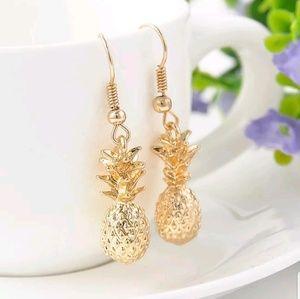 RESTOCKED🍍 Gold 🍍PineApple Earrings